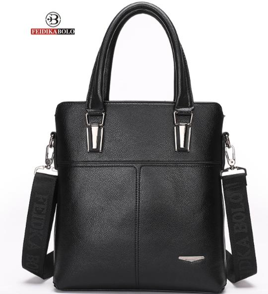 Мужская сумка Feidika BOLO кожа вертикальная