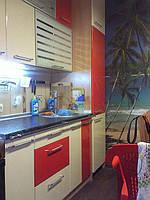 Пластикова кухонні меблі
