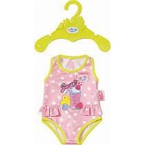 Новинка Одежда для кукол Беби Борн купальник розовый Baby Born Zapf Creation  824580 1a8b2ab4437b8