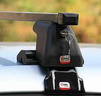 Автобагажник Amos Dromader D-1 стальной с защитными крышками
