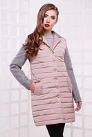 Куртка женская весна-осень розовая