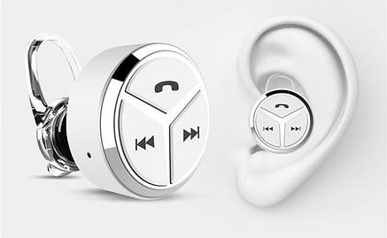 Bluetooth-гарнитура Q5 Intelligent Mini white, фото 2