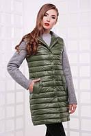 Куртка весна-осень зеленая
