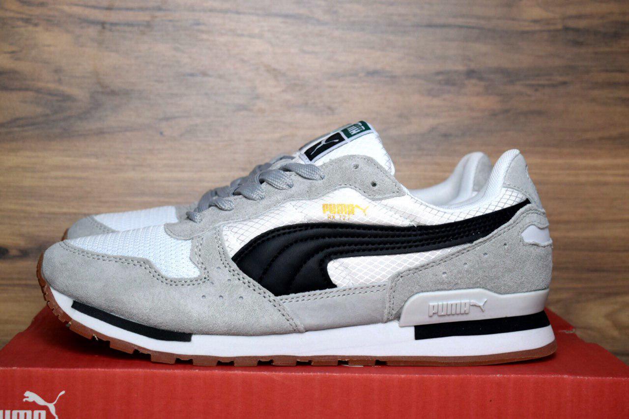 Мужские кроссовки Puma RX 727 серые с белым 1368  продажа, цена в ... cbd60e5a7a9