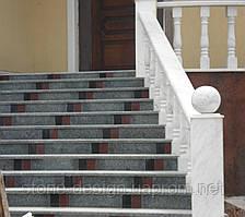 Лестница из гранита (наружные работы)