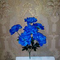 Искусственные цветы гортензия 6 голов, фото 1