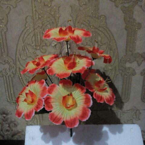 Искусственные цветы ракушка 9 голов