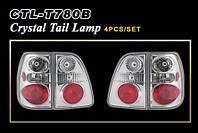 Задние фонари оптика Toyota LAND CRUISER 100 98-04 Crystal (4шт)