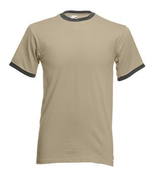 Мужская футболка с манжетами 168-17