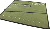 Чехол брезентовый для 25-ти комбинированных ключей 101250-Ч Автотехника