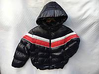 Куртка демисезонная детская для мальчика 1-5 лет, темно синяя, фото 1