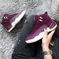 Женские кроссовки Air Jordan Bordeaux 12