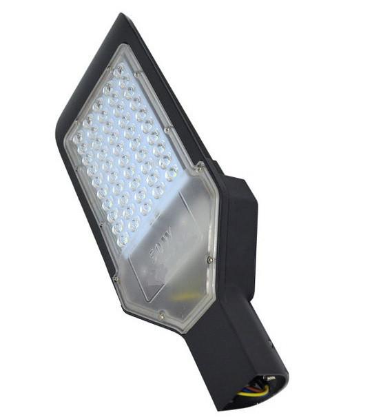 Консольный светодиодный светильник 100W Feron для уличного освещения