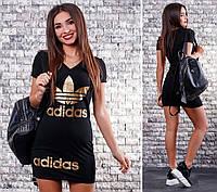 Платье спорт короткий рукав двухнитка 42,44,46