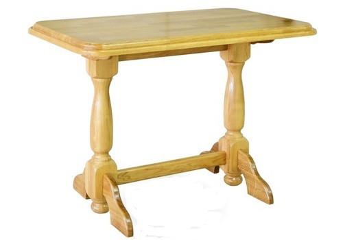 Стіл кухонний обідній з дерева дубовий Мебель Сервіс