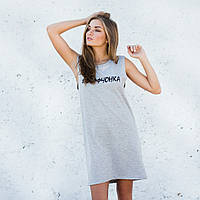 Платье - майка #Деффченка, фото 1