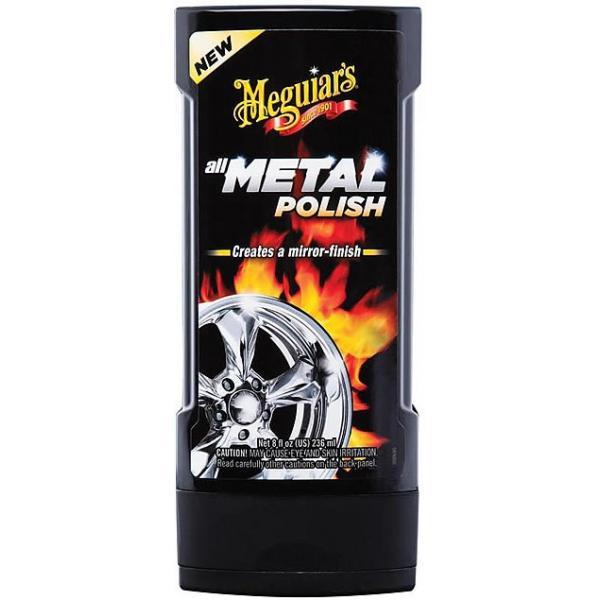 Многофункциональный полироль-очиститель металла Meguiars 236 мл.