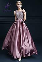 """Выпускное платье """"Фелиция"""". В нежно-лиловом цвете."""