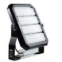Внешний вид уличных светодиодных прожекторов ЛЕД LED с модульной конструкцией