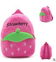 Детский мягкий рюкзак для девочки 2-4 года