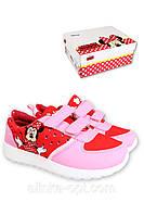 Кроссовки для девочек Disney, р. 24-29