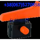 Кнопка болгарки 230 (толстый фиксатор, с фиксацией)