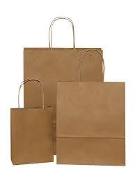 Бумажные пакеты из крафт-бумаги