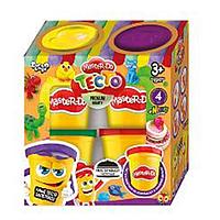 """Тесто для лепки """"Master Do"""" 4 банки x 50 грам, набор для детского творчества"""