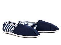 Эспадрильи мужские Line Blue/blue