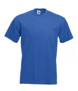 Мужская футболка премиум синяя 044-51