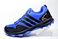 Мужские кроссовки в стиле Adidas tr7 kanadia, Black/Dark Blue
