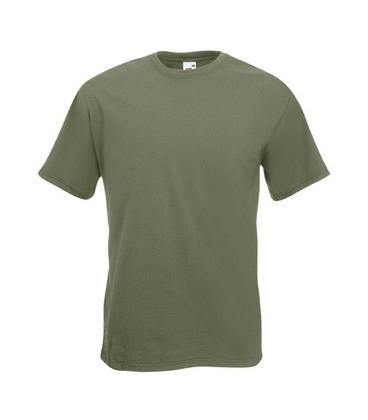 Мужская футболка премиум оливковая 044-59