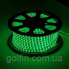 Светодиодная лента 3528 60LED IP65 герметик силикон (зеленый)  5м
