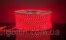 Светодиодная лента 3528 60LED IP65 герметик силикон (красный)  5м