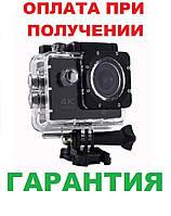 Водонепроницаемая спортивная экшн камера DVR SPORT S2 4K Wi Fi, фото 1