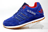 Кроссовки мужские Adidas Originals Spezial, Dark Blue\Red