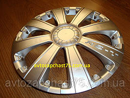 Ковпак колісний R13 , RST, сірий, комплект 4 шт. (виробник Дорожня карта, Харків)