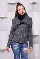 Куртка-жакет из шерстяной ткани «Букле»