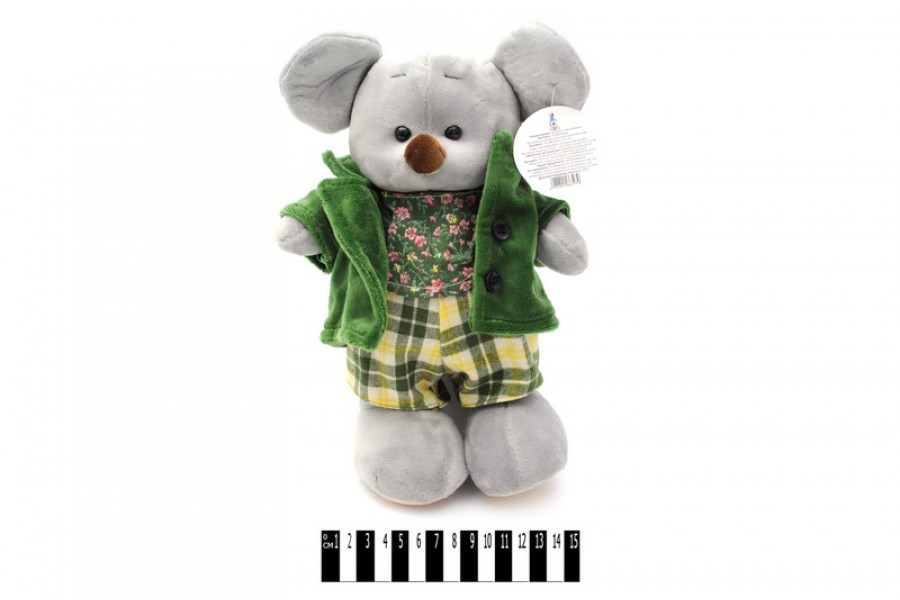 Мягкая игрушка Мышка в курточке 6797/25,  мышонок 25 см
