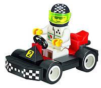 """Конструктор BRICK (аналог LEGO) """"Гоночный карт"""" 33 детали, 1204"""