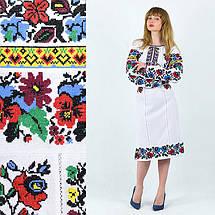 Женское платье с вышивкой Белоснежная нежность, фото 3