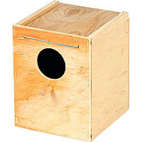 Домик для птиц деревянный средний ТМ Природа 13х13х13см