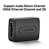 Ugreen Переходник HDMI - HDMI v. 1.4 с поддержкой 4К и 3D, фото 4