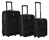 Набор чемоданов Bonro Best черный