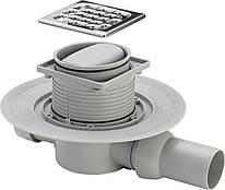 Трап Advantix для ванної, сухий затвор, горизонтальний D50