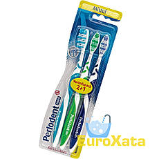 Зубная щетка Perlodent med Mittel (3 шт) Германия
