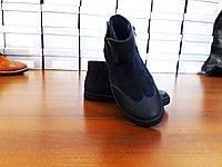 Демисезонные кожаные ботинки для детей и подростков