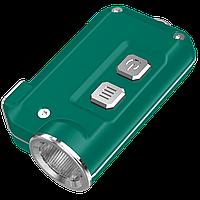 Фонарь Nitecore TINI (Cree XP-G2 S3 LED, 380 люмен, 4 режима, USB), зеленый, фото 1