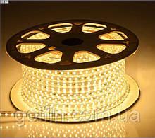 Светодиодная лента 5050 30LED IP65 герметик силикон (белый теплый)  5м