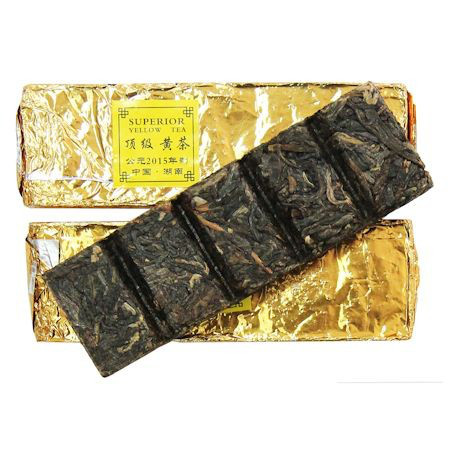 """Желтый чай плитка """"Юе-Янг"""" 25-30 г."""